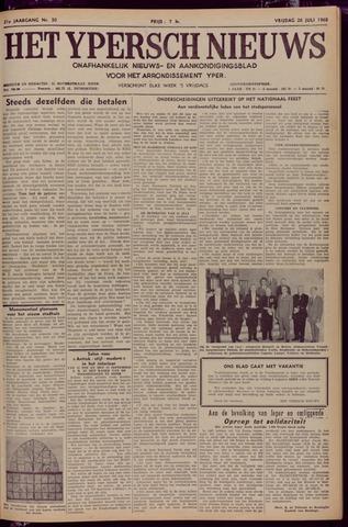 Het Ypersch nieuws (1929-1971) 1968-07-26