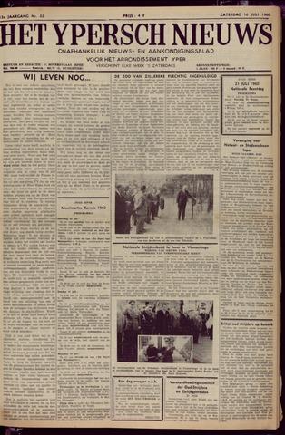 Het Ypersch nieuws (1929-1971) 1960-07-16