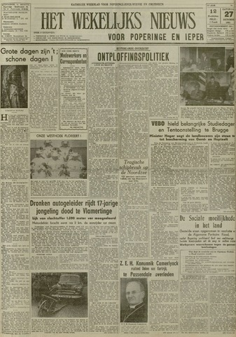 Het Wekelijks Nieuws (1946-1990) 1951-10-27