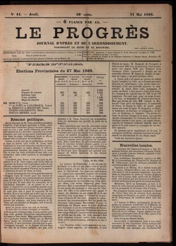Le Progrès (1841-1914) 1888-05-31