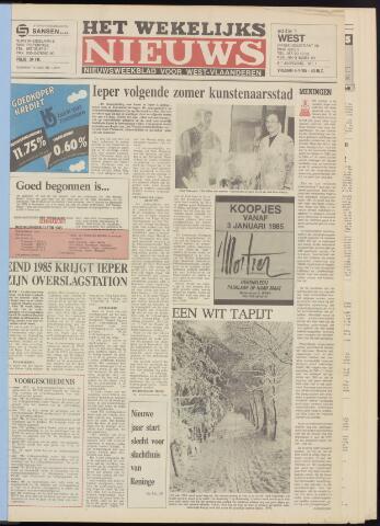 Het Wekelijks Nieuws (1946-1990) 1985