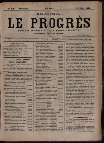 Le Progrès (1841-1914) 1879-07-06