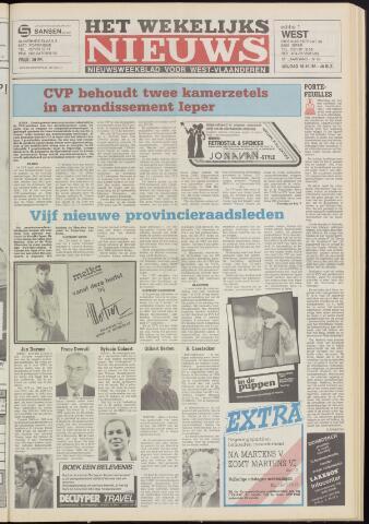 Het Wekelijks Nieuws (1946-1990) 1985-10-18