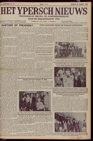 Het Ypersch nieuws (1929-1971) 1968-03-29