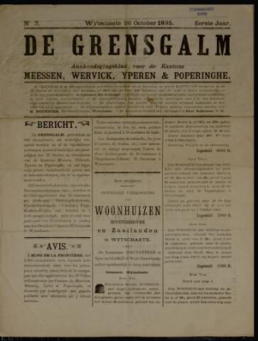 De Grensgalm (1895, 1901, 1902, 1904) 1895-10-26