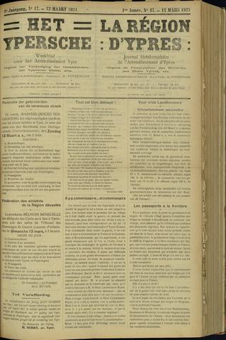 Het Ypersche (1925 - 1929) 1921-03-12