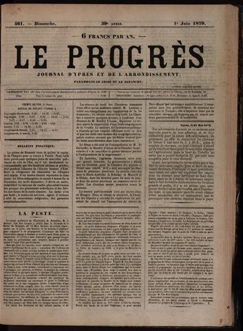 Le Progrès (1841-1914) 1879-06-01