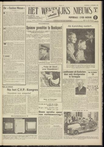 Het Wekelijks Nieuws (1946-1990) 1956-12-15