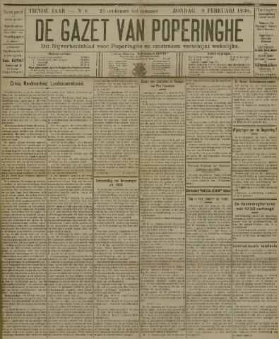 De Gazet van Poperinghe  (1921-1940) 1930-02-09