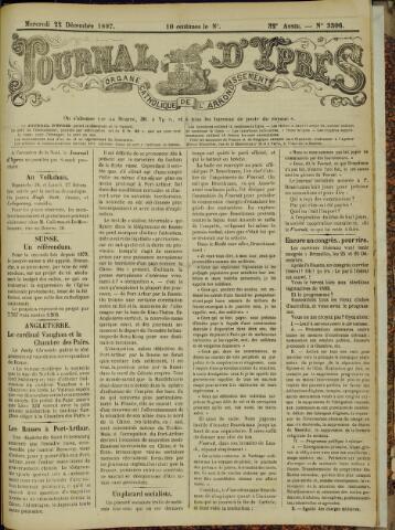 Journal d'Ypres (1874 - 1913) 1897-12-22