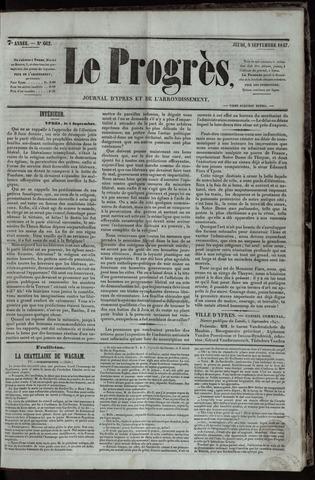 Le Progrès (1841-1914) 1847-09-09