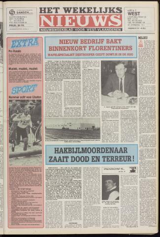 Het Wekelijks Nieuws (1946-1990) 1987-01-09
