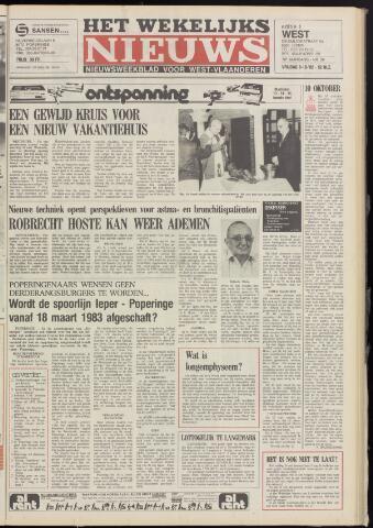 Het Wekelijks Nieuws (1946-1990) 1982-10-08