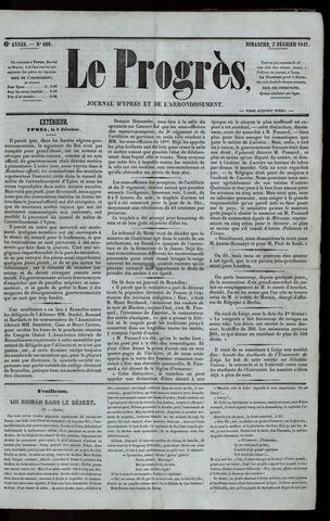 Le Progrès (1841-1914) 1847-02-07