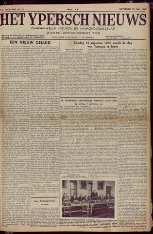 Het Ypersch nieuws (1929-1971) 1960-07-30