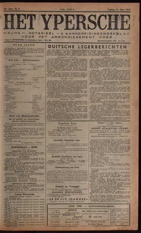 Het Ypersch nieuws (1929-1971) 1943-06-11