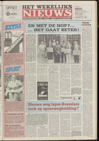 Het Wekelijks Nieuws (1946-1990) 1987-10-09