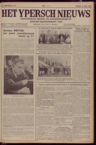 Het Ypersch nieuws (1929-1971) 1968-06-21