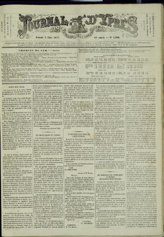 Journal d'Ypres (1874 - 1913) 1877-03-03