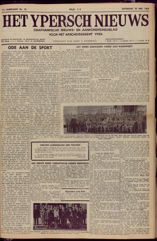 Het Ypersch nieuws (1929-1971) 1964-05-30