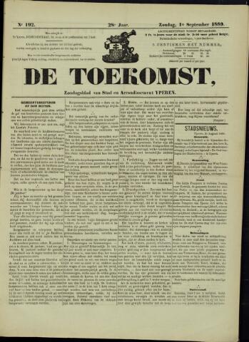 De Toekomst (1862 - 1894) 1889-09-01