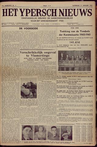 Het Ypersch nieuws (1929-1971) 1961-01-21