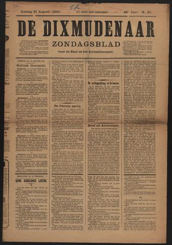 De Dixmudenaar 1890-08-31
