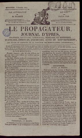 Le Propagateur (1818-1871) 1827