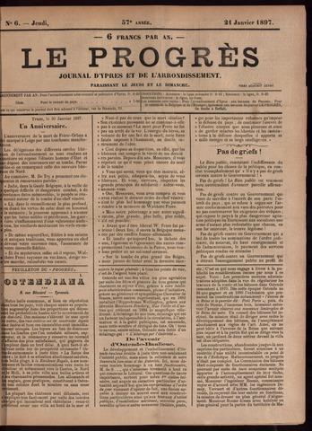 Le Progrès (1841-1914) 1897-01-21