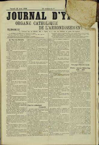 Journal d'Ypres (1874 - 1913) 1906-08-25