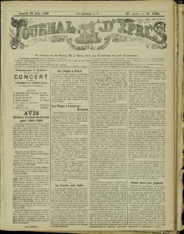 Journal d'Ypres (1874 - 1913) 1900-06-30