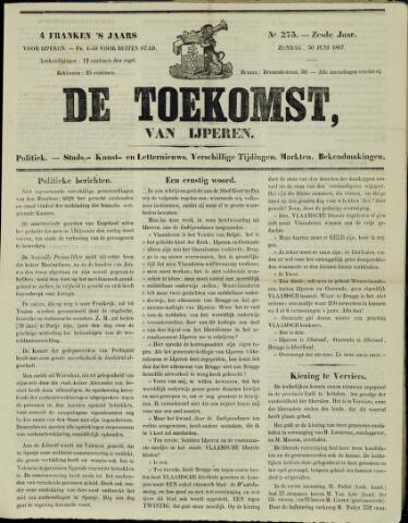 De Toekomst (1862 - 1894) 1867-06-30