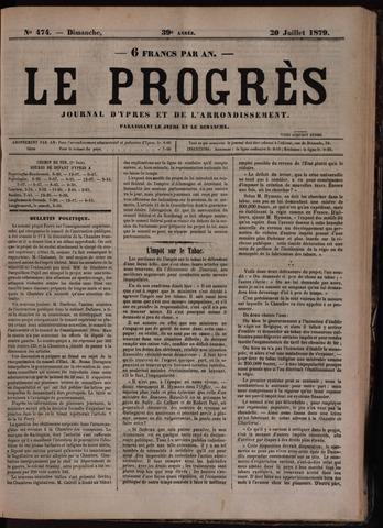 Le Progrès (1841-1914) 1879-07-20