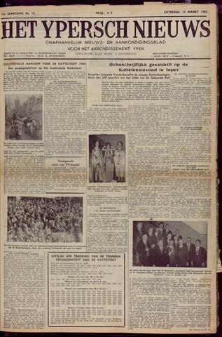 Het Ypersch nieuws (1929-1971) 1960-03-19