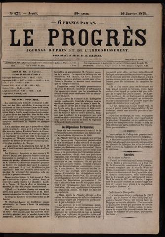 Le Progrès (1841-1914) 1879-01-16