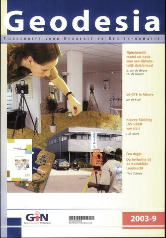 (NGT) Geodesia 2003-09-01