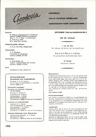 (NGT) Geodesia 1966-09-01
