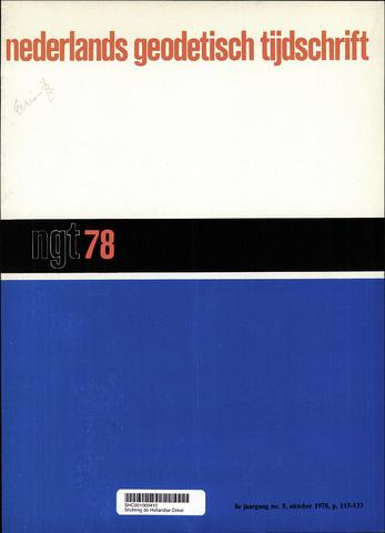 Nederlands Geodetisch Tijdschrift (NGT) 1978-10-01