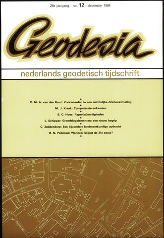 (NGT) Geodesia 1984-12-01