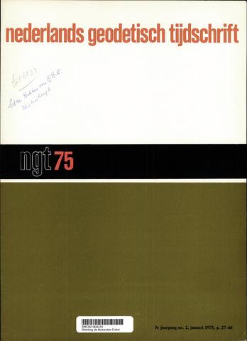 Nederlands Geodetisch Tijdschrift (NGT) 1975-02-01
