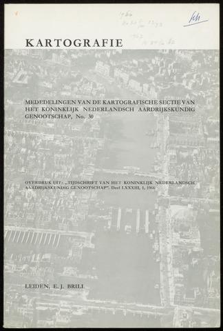 Kartografie 1966-01-01