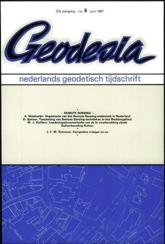 (NGT) Geodesia 1981-06-01