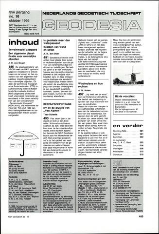 (NGT) Geodesia 1993-10-01