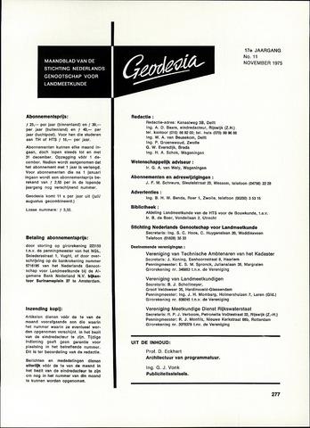 (NGT) Geodesia 1975-11-01