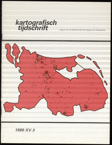 Kartografisch Tijdschrift 1989-07-01