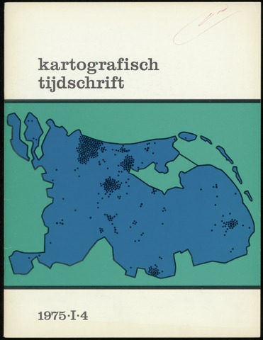 Kartografisch Tijdschrift 1975-10-01