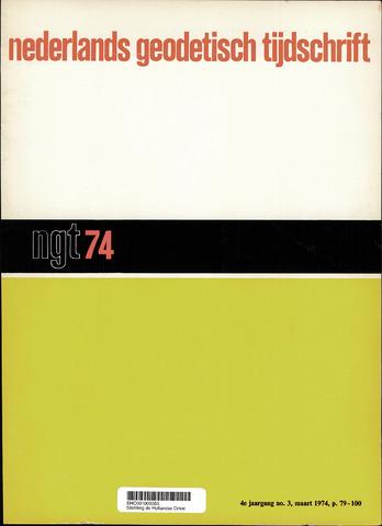 Nederlands Geodetisch Tijdschrift (NGT) 1974-03-01