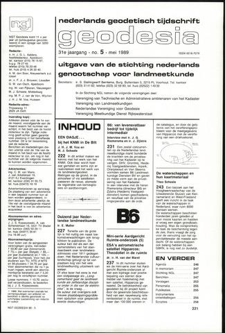 (NGT) Geodesia 1989-05-01