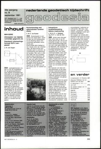 (NGT) Geodesia 1991-09-01