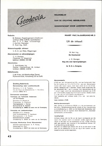 (NGT) Geodesia 1967-03-01